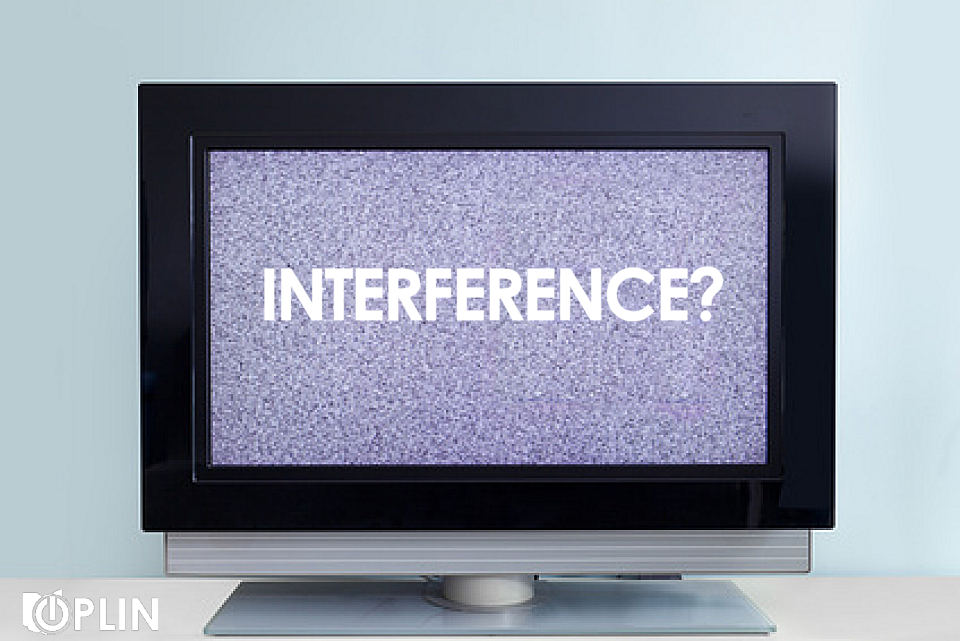 Interference? Picture of screen full of static