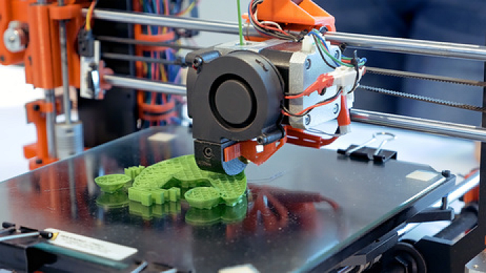 3d object being printed