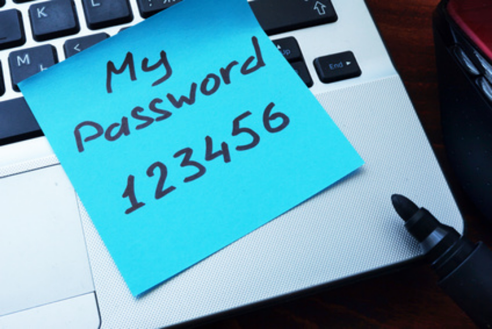 Really bad password example
